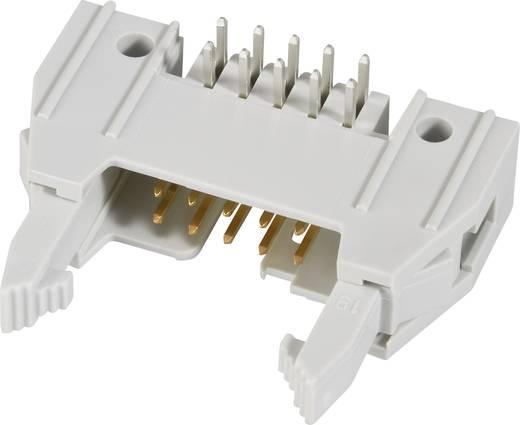 Pfosten-Steckverbinder mit Auswurfhebel lang, inkl. Zugentlastungsklemme Rastermaß: 2.54 mm Polzahl Gesamt: 10 Anzahl Re