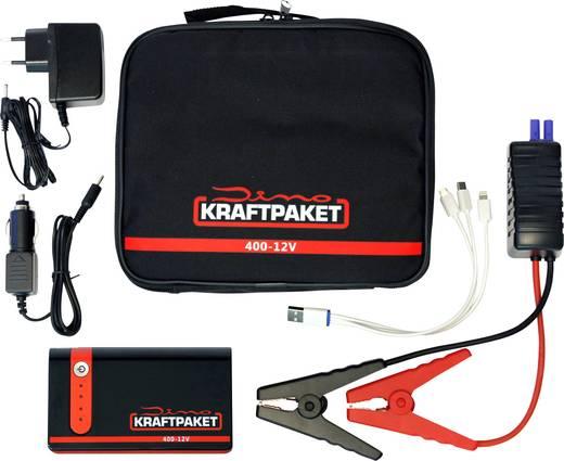 Dino KRAFTPAKET Schnellstartsystem KRAFTPAKET 9000m Ah 136103 Starthilfestrom (12 V)=200 A