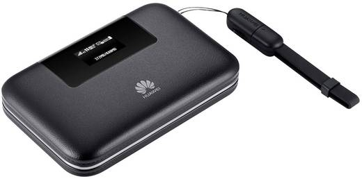 Huawei E5770 Mobiler 4G-WLAN-Hotspot bis 10 Geräte mit microSD-Kartenslot Schwarz