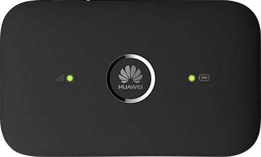 Huawei E5573 Mobiler 4G-WLAN-Hotspot bis 10 Geräte 150 MBit/s mit Antennenanschluss Schwarz