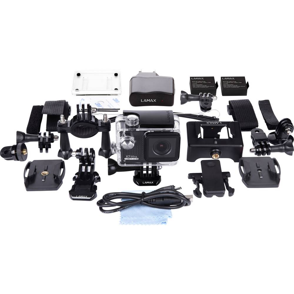 action camera lamax x7 mira waterproof im conrad online. Black Bedroom Furniture Sets. Home Design Ideas
