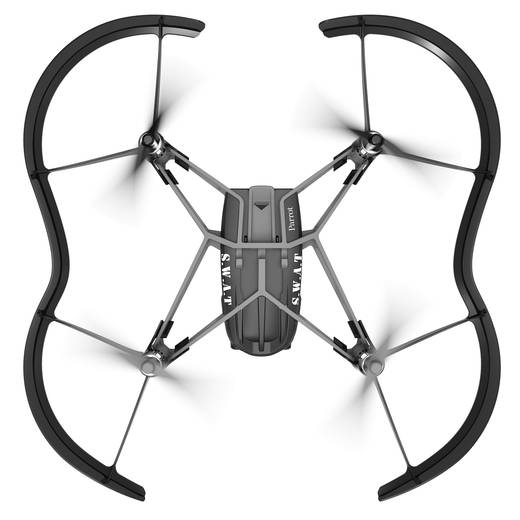 Parrot Airborne Night Drone SWAT Quadrocopter RtF
