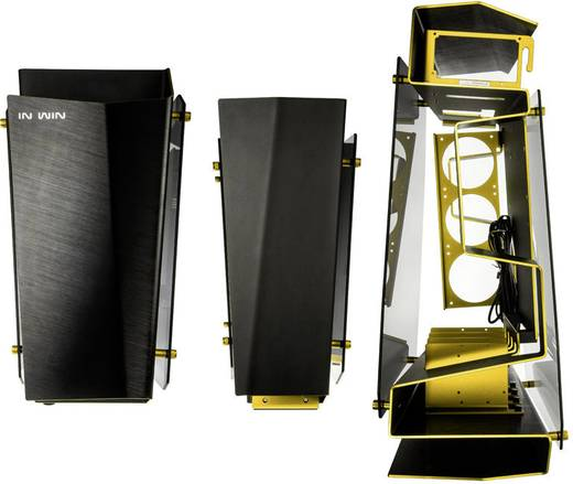 midi tower pc geh use in win s frame noir et dor schwarz gold kaufen. Black Bedroom Furniture Sets. Home Design Ideas