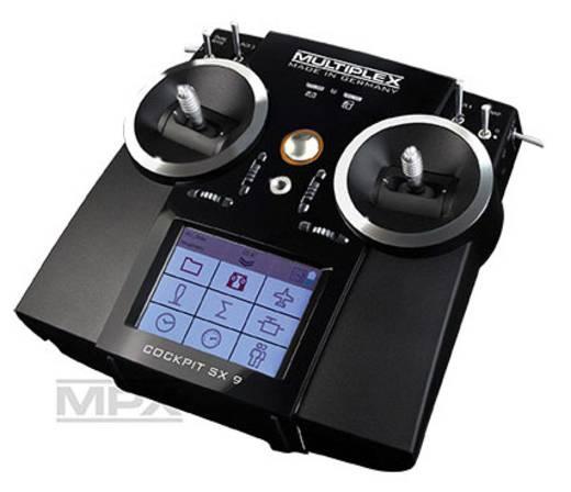 Multiplex Cockpit SX 9 Hand-Fernsteuerung 2,4 GHz Anzahl Kanäle: 9 inkl. Empfänger
