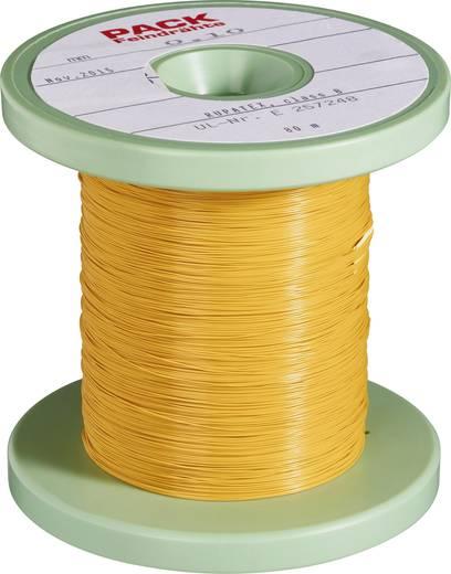 Pack Litz Wire Kupferlackdraht Außen-Durchmesser (inkl. Isolierlack)=1 mm Außen-Durchmesser (ohne Isolierlack): 0.80 mm