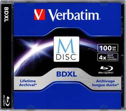 M-DISC Blu-ray 100 GB Verbatim Jewelcase, 98912, 1 ks
