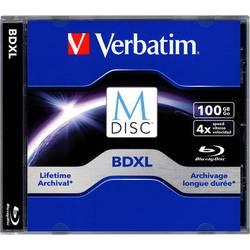 M-DISC Blu-ray 100 GB Verbatim Jewelcase, 98912, 1 ks