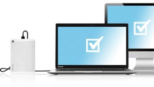 Externe Festplatte 6.35 cm (2.5 Zoll) 1 TB Toshiba Canvio Connect II Blau USB 3.0