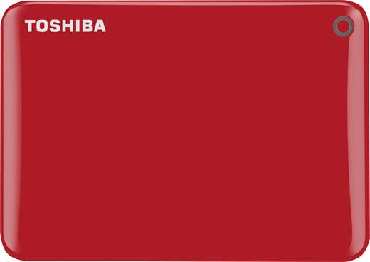 Toshiba Canvio Connect II Externe Festplatte 6.35 cm (2.5 Zoll) 1 TB Rot USB 3.0