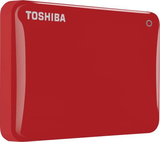 Externe Festplatte 6.35 cm (2.5 Zoll) 1 TB Toshiba Canvio Connect II Rot USB 3.0