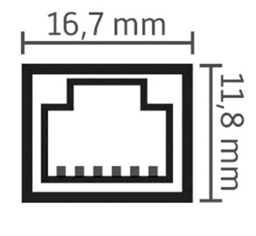 RJ45 Netzwerk Anschlusskabel CAT 6 S/FTP 2.2 m Schwarz Oehlbach XXL® HYPER STREAM
