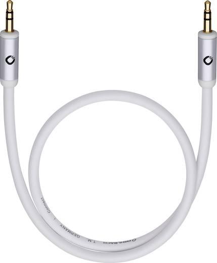 Klinke Audio Anschlusskabel [1x Klinkenstecker 3.5 mm - 1x Klinkenstecker 3.5 mm] 3 m Schwarz vergoldete Steckkontakte,