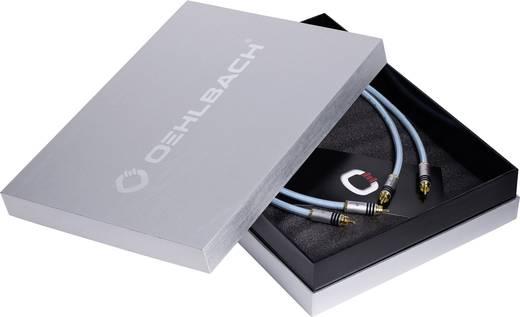 Cinch Audio Anschlusskabel [2x Cinch-Stecker - 2x Cinch-Stecker] 2 m Blau vergoldete Steckkontakte Oehlbach XXL® Series
