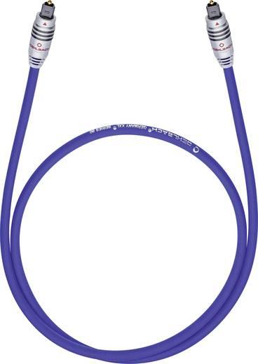 Toslink Digital-Audio Anschlusskabel [1x Toslink-Stecker (ODT) - 1x Toslink-Stecker (ODT)] 0.50 m Blau Oehlbach XXL® Ser