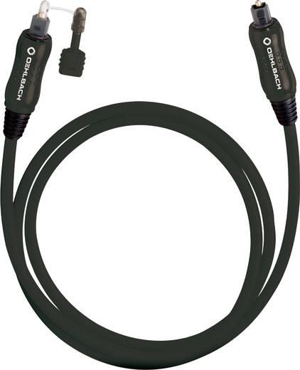 Toslink Digital-Audio Anschlusskabel [1x Toslink-Stecker (ODT) - 1x Toslink-Stecker (ODT)] 0.50 m Schwarz Oehlbach OPTO