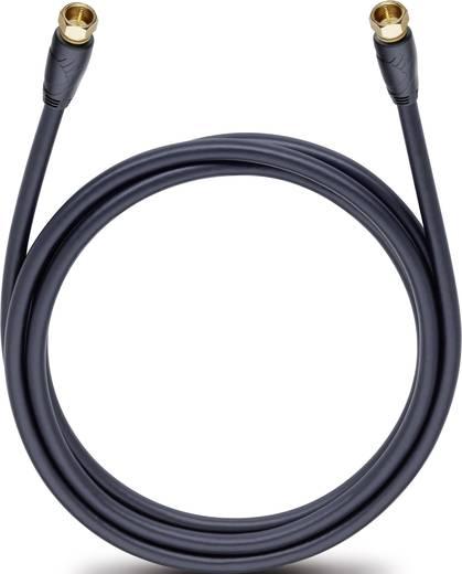 Antennen, SAT Anschlusskabel [1x F-Stecker - 1x F-Stecker] 4 m 110 dB vergoldete Steckkontakte Schwarz Oehlbach Easy Con