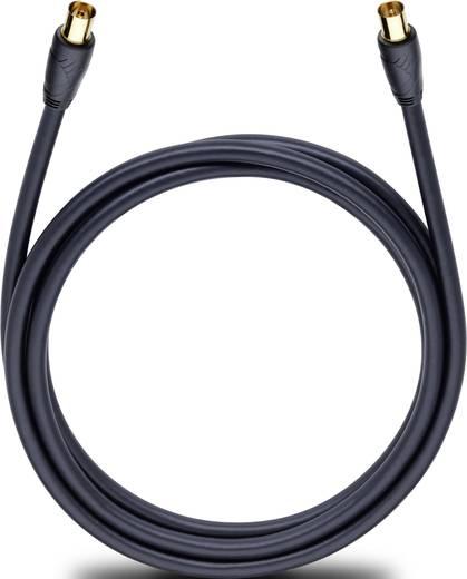 Oehlbach Antennen, SAT Anschlusskabel [1x Antennenstecker 75 Ω - 1x Antennenbuchse 75 Ω] 4 m 110 dB vergoldete Steckkont