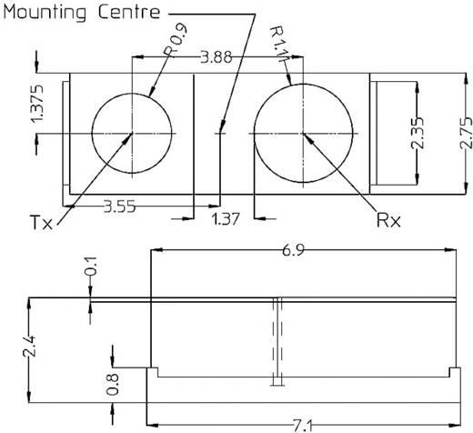 Objekt-Sensor HSDL-9100-021 Broadcom 1 St.