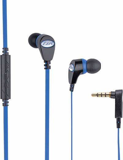Magnat 540 Kopfhörer In Ear Headset, Noise Cancelling Schwarz, Blau