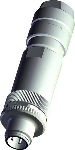 Sensor-/Aktor-Steckverbinder, unkonfektioniert M12 Stecker, gerade Polzahl: 5 TE Connectivity 4-2271111-2 1 St.