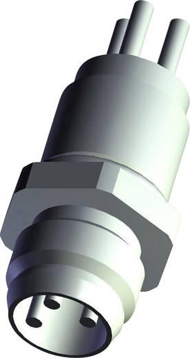 TE Connectivity 3-2271134-2 Sensor-/Aktor-Einbausteckverbinder M12 Stecker, Einbau Polzahl: 4 1 St.