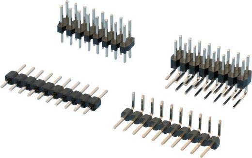 W & P Products Stiftleiste (Standard) Anzahl Reihen: 1 Polzahl je Reihe: 10 314-110-010-00 1 St.