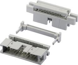 Barrette mâle (standard) série 869 mâle, droit 14 pôles W & P Products 369-14-10-0-60 Pas: 2.54 mm 1 pc(s)
