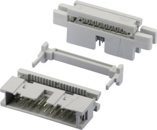 W & P Products Stiftleiste (Standard) 869 Polzahl Gesamt 20 Rastermaß: 2.54 mm 369-20-10-0-60 1 St.