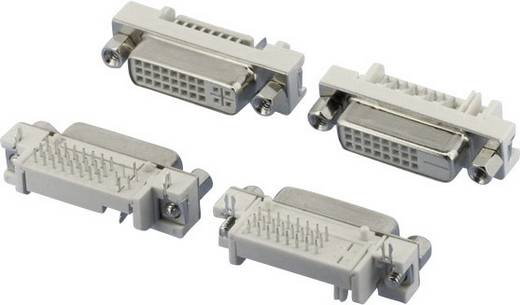 W & P Products 507-29-2-2-20 DVI-Steckverbinder Buchse, Einbau horizontal Polzahl: 29 Silber 1 St.