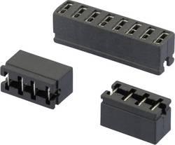 Shunt ouvert W & P Products 365-03-10-00 Pôle:3 Pas: 2.54 mm noir 1 pc(s)
