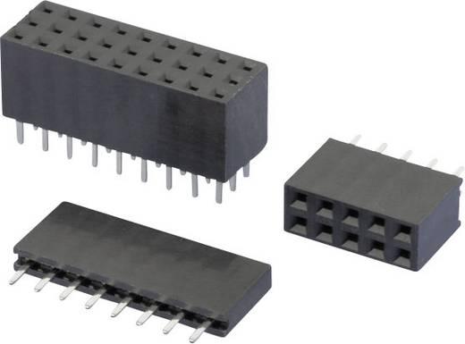 W & P Products Buchsenleiste (Standard) Anzahl Reihen: 1 Polzahl je Reihe: 10 157-10-1-00 1 St.