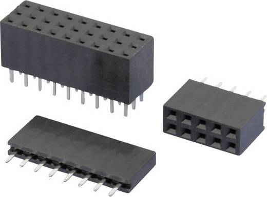 W & P Products Buchsenleiste (Standard) Anzahl Reihen: 2 Polzahl je Reihe: 20 157-40-2-00 1 St.