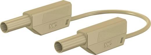 Sicherheits-Messleitung [Lamellenstecker 4 mm - Lamellenstecker 4 mm] 0.75 m Braun Stäubli 66.8562-07527