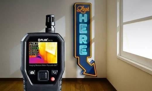 Materialfeuchtemessgerät FLIR MR176 Messbereich Baufeuchtigkeit (Bereich) 0 bis 100 % vol integrierte Wärmebildkamera
