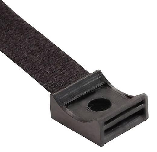 Klettbandsockel zum Anschrauben Schwarz Hebotec 3011-010 1 St.