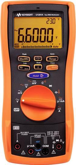 Multimètre numérique Keysight Technologies U1281A Etalonnage: d'usine sans certificat Affichage (nombre de points): 6