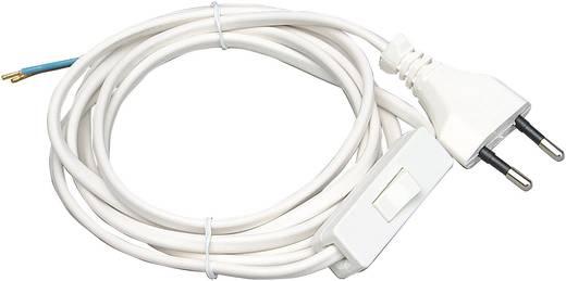 Kopp 140302095 Schnurschalter Weiß 1 x Aus/Ein 2.5 A 1 St.