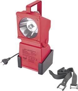 Image of AccuLux 451541 Akku-Handscheinwerfer Signal-Rot LED 10 h