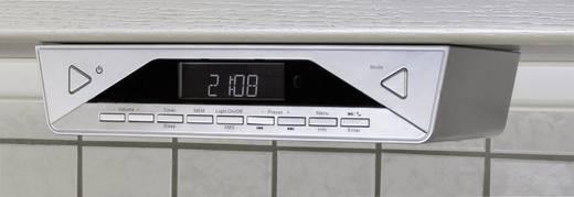 SoundMaster UR2040SI DAB+ Küchenradio, Unterbauradio Bluetooth® Freisprechfunktion Silber