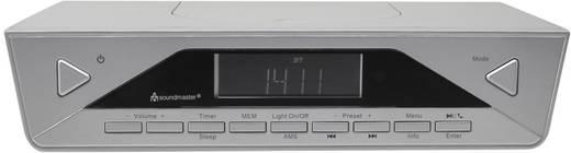 DAB+ Küchenradio, Unterbauradio SoundMaster UR2040SI Bluetooth® Freisprechfunktion Silber