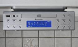 FM kuchyňské rádio s CD/MP3 přehrávačem a USB SoundMaster UR2050SI