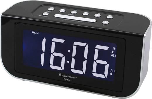 UKW Radiowecker SoundMaster FUR4005 UKW Schwarz