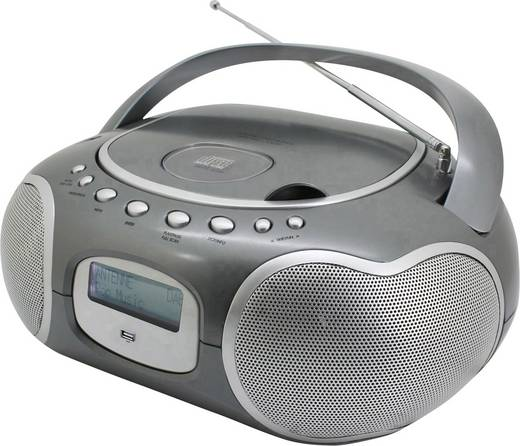 SoundMaster SCD4200TI DAB+ CD-Radio AUX, CD, DAB+, UKW, USB Titan
