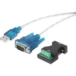 USB / sériový adaptér USB 1.1 Renkforce RF-4212153 0.75 m, čierna