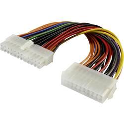 PC napájecí prodlužovací kabel Renkforce RF-4212168, 12.00 cm, barevná