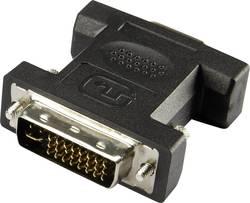 DVI / VGA adaptér Renkforce [1x DVI zástrčka 24+5pólová - 1x VGA zásuvka], černá