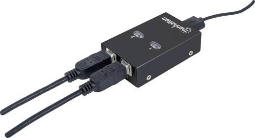 Manhattan 2 Port USB 2.0-Umschalter Schwarz