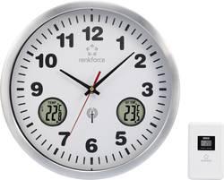 DCF nástěnné hodiny Renkforce E1522TR, hliník, 30 cm