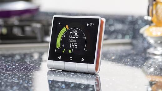 GEO PCK-MP-003 Energiekosten-Messgerät beleuchtete Anzeige, Kostenprognose, LCD-Farbdisplay, Stromtarif einstellbar, ink