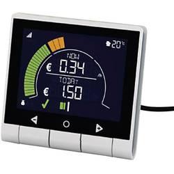 Image of GEO PCK-MP-003 Energiekosten-Messgerät beleuchtete Anzeige, Kostenprognose, LCD-Farbdisplay, Stromtarif einstellbar,